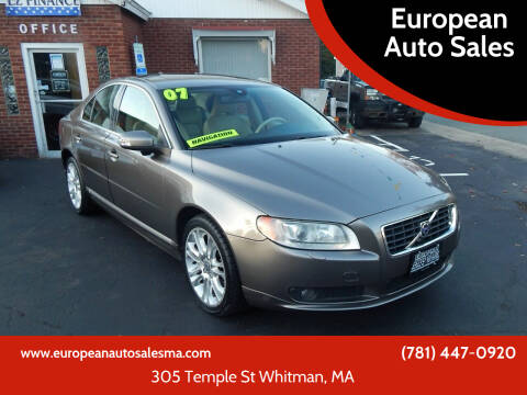 2007 Volvo S80 for sale at European Auto Sales in Whitman MA