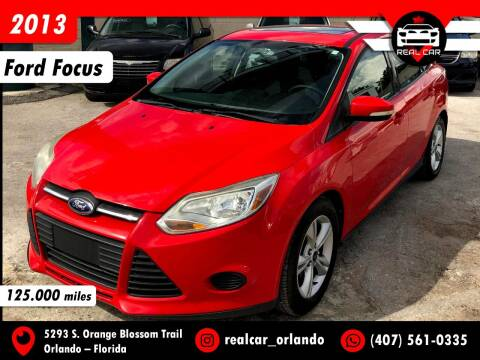 2013 Ford Focus for sale at Real Car Sales in Orlando FL