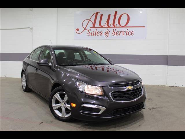 2015 Chevrolet Cruze for sale at Auto Sales & Service Wholesale in Indianapolis IN