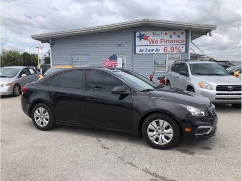 2015 Chevrolet Cruze for sale at My Value Car Sales in Venice FL