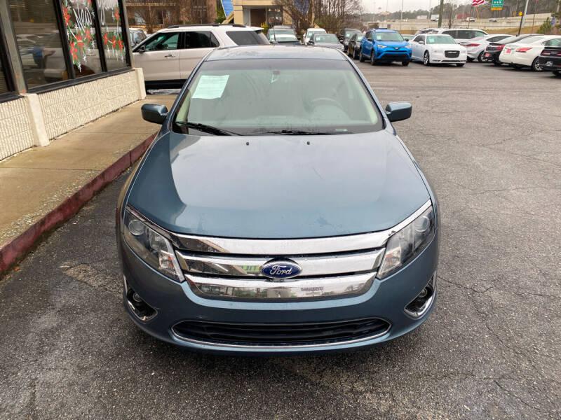 2012 Ford Fusion for sale at J Franklin Auto Sales in Macon GA