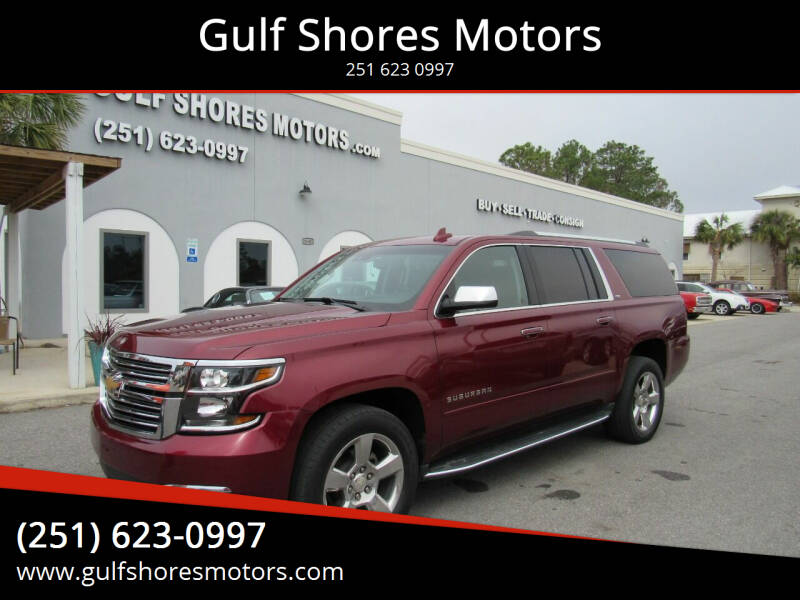 2016 Chevrolet Suburban for sale at Gulf Shores Motors in Gulf Shores AL