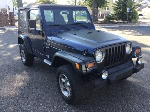 2000 Jeep Wrangler for sale at Bromax Auto Sales in South River NJ