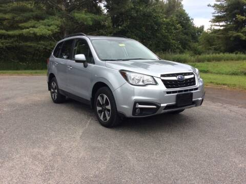 2017 Subaru Forester for sale at Route 102 Auto Sales  and Service in Lee MA