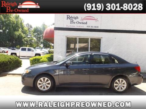 2009 Subaru Impreza for sale at Raleigh Pre-Owned in Raleigh NC