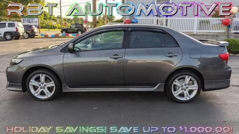 2013 Toyota Corolla for sale at RBT Automotive LLC in Perry OH