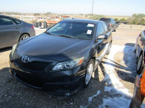 2011 Toyota Camry for sale at Hill Top Sales in Brenham TX