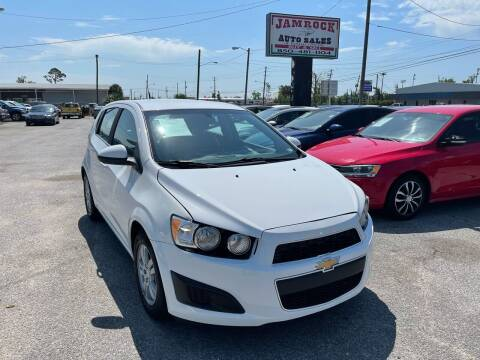 2014 Chevrolet Sonic for sale at Jamrock Auto Sales of Panama City in Panama City FL