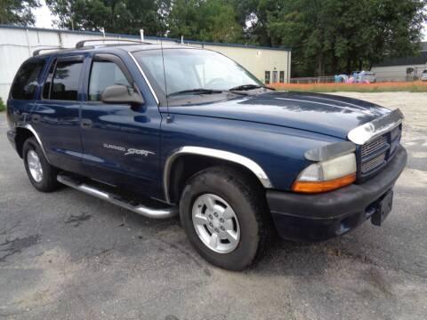 2001 Dodge Durango for sale at Liberty Motors in Chesapeake VA