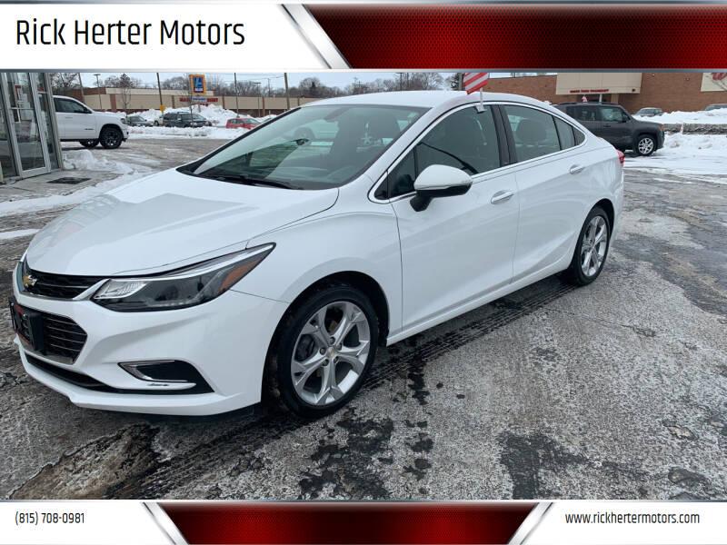 2017 Chevrolet Cruze for sale at Rick Herter Motors in Loves Park IL