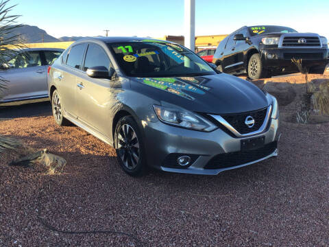 2017 Nissan Sentra for sale at SPEND-LESS AUTO in Kingman AZ