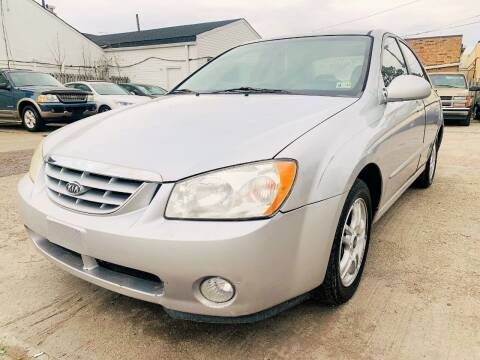 2005 Kia Spectra for sale at Auto Space LLC in Norfolk VA
