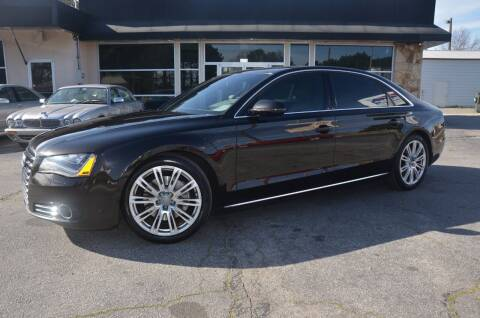 2013 Audi A8 L for sale at Amyn Motors Inc. in Tucker GA