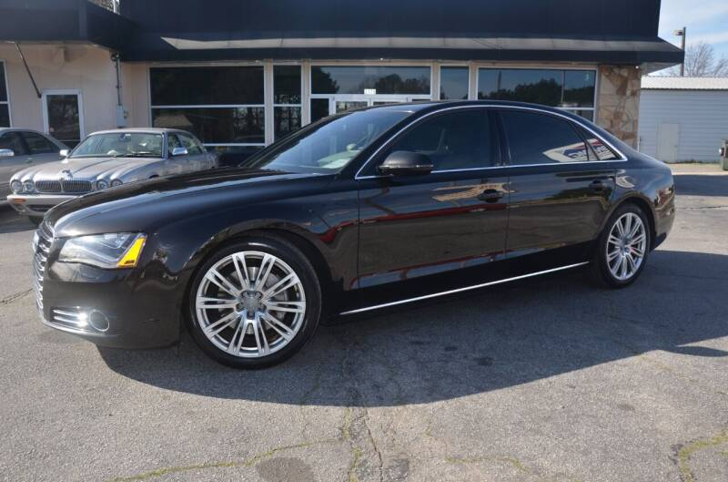 2013 Audi A8 L for sale at Amyn Motors Inc. in Tucker GA