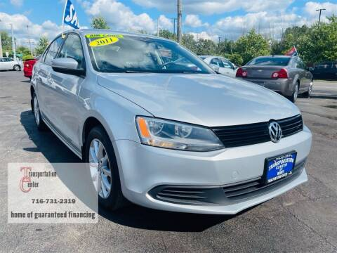 2011 Volkswagen Jetta for sale at Transportation Center Of Western New York in Niagara Falls NY