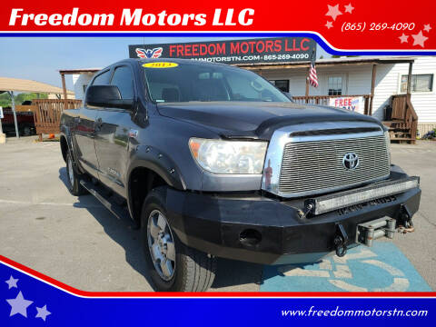 2013 Toyota Tundra for sale at Freedom Motors LLC in Knoxville TN