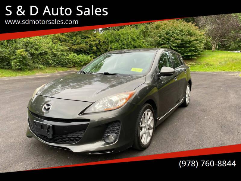 2012 Mazda MAZDA3 for sale at S & D Auto Sales in Maynard MA