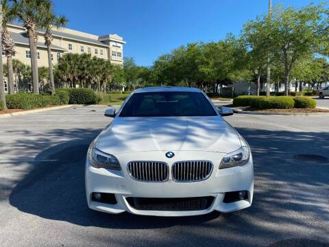 2013 BMW 5 Series for sale at Gulf Financial Solutions Inc DBA GFS Autos in Panama City Beach FL