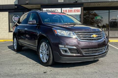 2015 Chevrolet Traverse for sale at Michaels Auto Plaza in East Greenbush NY