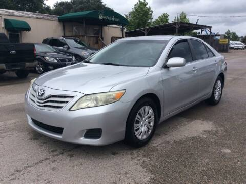 2010 Toyota Camry for sale at OASIS PARK & SELL in Spring TX