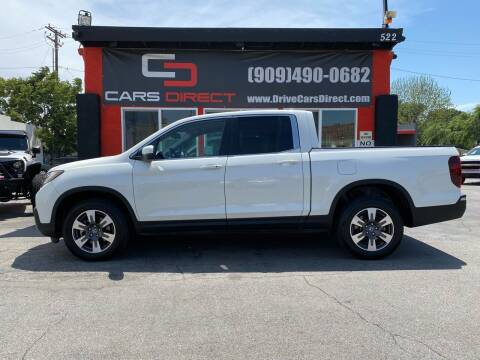 2017 Honda Ridgeline for sale at Cars Direct in Ontario CA