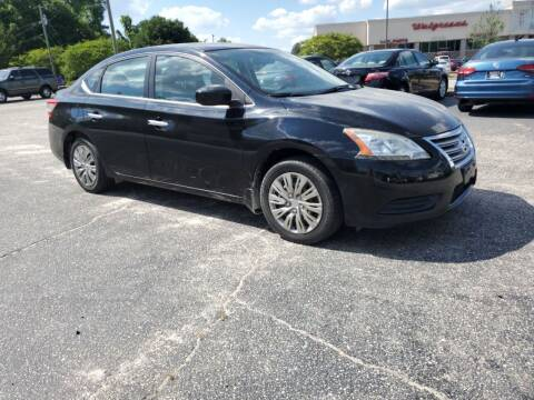 2013 Nissan Sentra for sale at Ron's Used Cars in Sumter SC