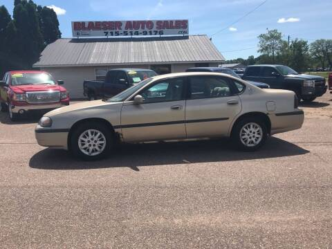 2005 Chevrolet Impala for sale at BLAESER AUTO LLC in Chippewa Falls WI