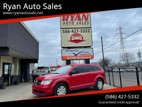 2018 Dodge Journey for sale at Ryan Auto Sales in Warren MI