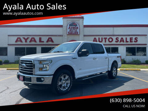 2016 Ford F-150 for sale at Ayala Auto Sales in Aurora IL
