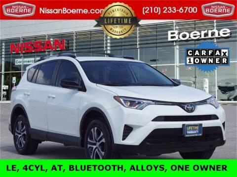 2017 Toyota RAV4 for sale at Nissan of Boerne in Boerne TX