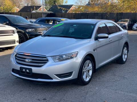 2015 Ford Taurus for sale at Best of Michigan Auto Sales in Detroit MI