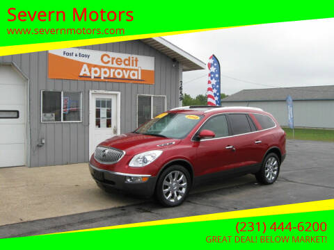 2012 Buick Enclave for sale at Severn Motors in Cadillac MI