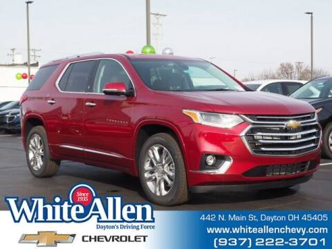 2021 Chevrolet Traverse for sale at WHITE-ALLEN CHEVROLET in Dayton OH