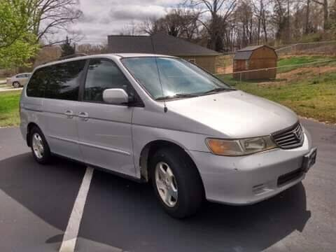 2001 Honda Odyssey for sale at Happy Days Auto Sales in Piedmont SC