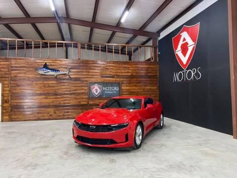 2021 Chevrolet Camaro for sale at A & V MOTORS in Hidalgo TX