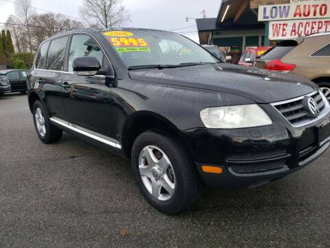 2006 Volkswagen Touareg for sale at Low Auto Sales in Sedro Woolley WA