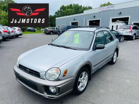 2002 Subaru Impreza for sale at J & J MOTORS in New Milford CT
