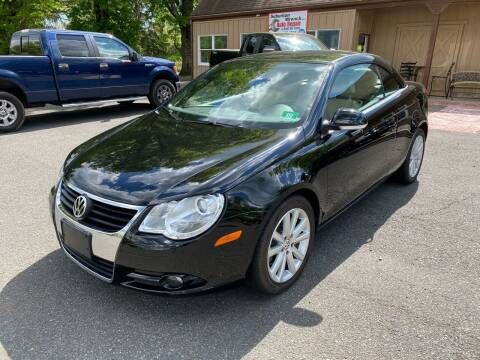 2008 Volkswagen Eos for sale at Suburban Wrench in Pennington NJ