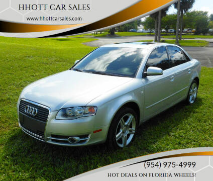 2007 Audi A4 for sale at HHOTT CAR SALES in Deerfield Beach FL