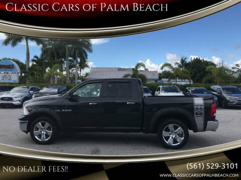 2009 Dodge Ram Pickup 1500 for sale at Classic Cars of Palm Beach in Jupiter FL