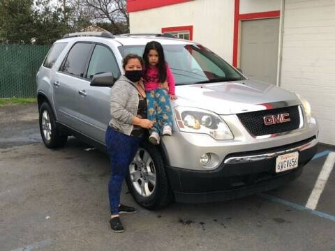 2012 GMC Acadia for sale at Redwood City Auto Sales in Redwood City CA