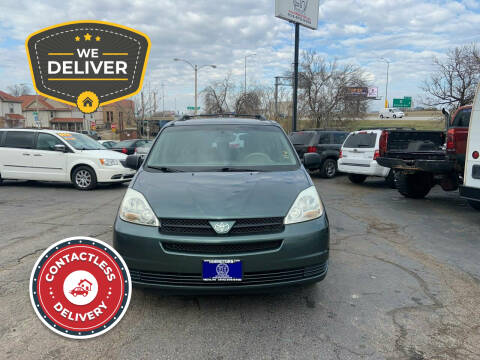 2005 Toyota Sienna for sale at E H Motors LLC in Milwaukee WI