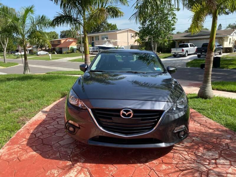 2016 Mazda MAZDA3 for sale at ONYX AUTOMOTIVE, LLC in Largo FL