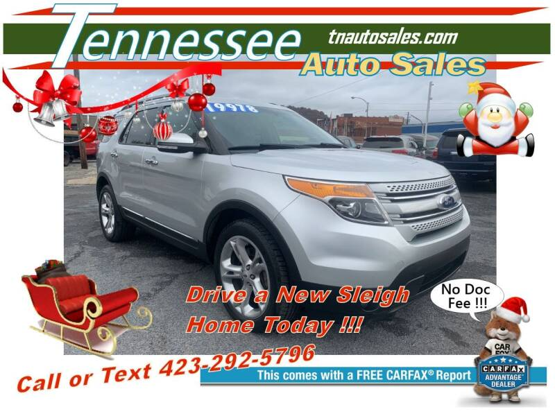 2015 Ford Explorer for sale at Tennessee Auto Sales in Elizabethton TN