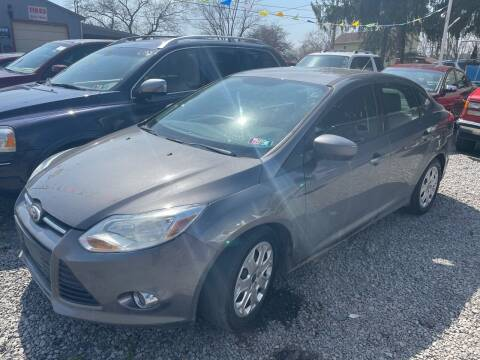 2012 Ford Focus for sale at Trocci's Auto Sales in West Pittsburg PA