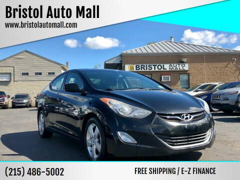 2013 Hyundai Elantra for sale at Bristol Auto Mall in Levittown PA