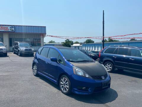 2013 Honda Fit for sale at FIESTA MOTORS in Hagerstown MD