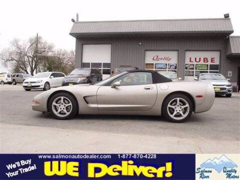 2002 Chevrolet Corvette for sale at QUALITY MOTORS in Salmon ID