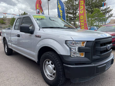 2016 Ford F-150 for sale at Duke City Auto LLC in Gallup NM