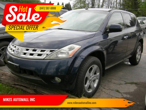 2004 Nissan Murano for sale at MIKES AUTOMALL INC in Ingleside IL